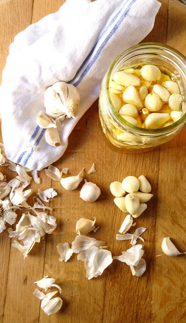 Fermented Garlic Honey Peel With Zeal