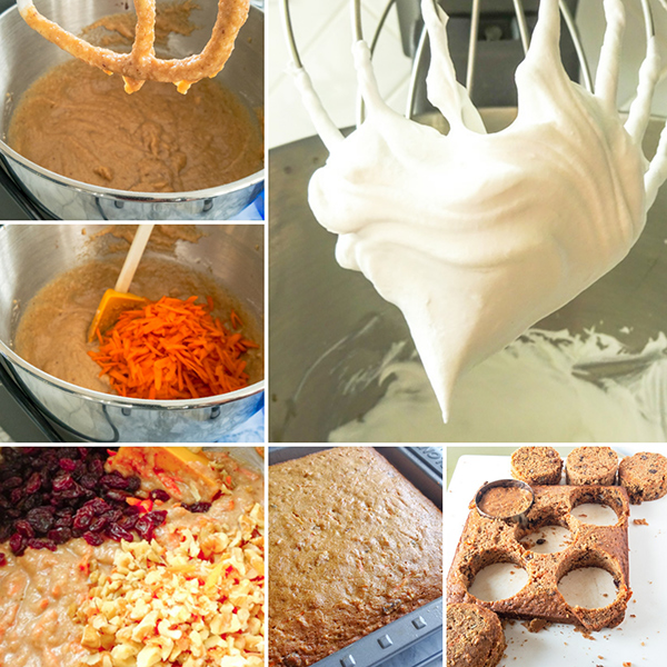 How to make healthy carrot cake